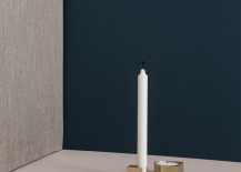 Brass candle holder from ferm LIVING