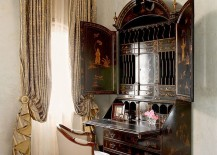 Burton Ching secretary desk adds Victorian flair to the bedroom