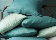Canvas cushion covers from HM Home 217x155 The Designer Look for Less: Trendy Decor on a Budget