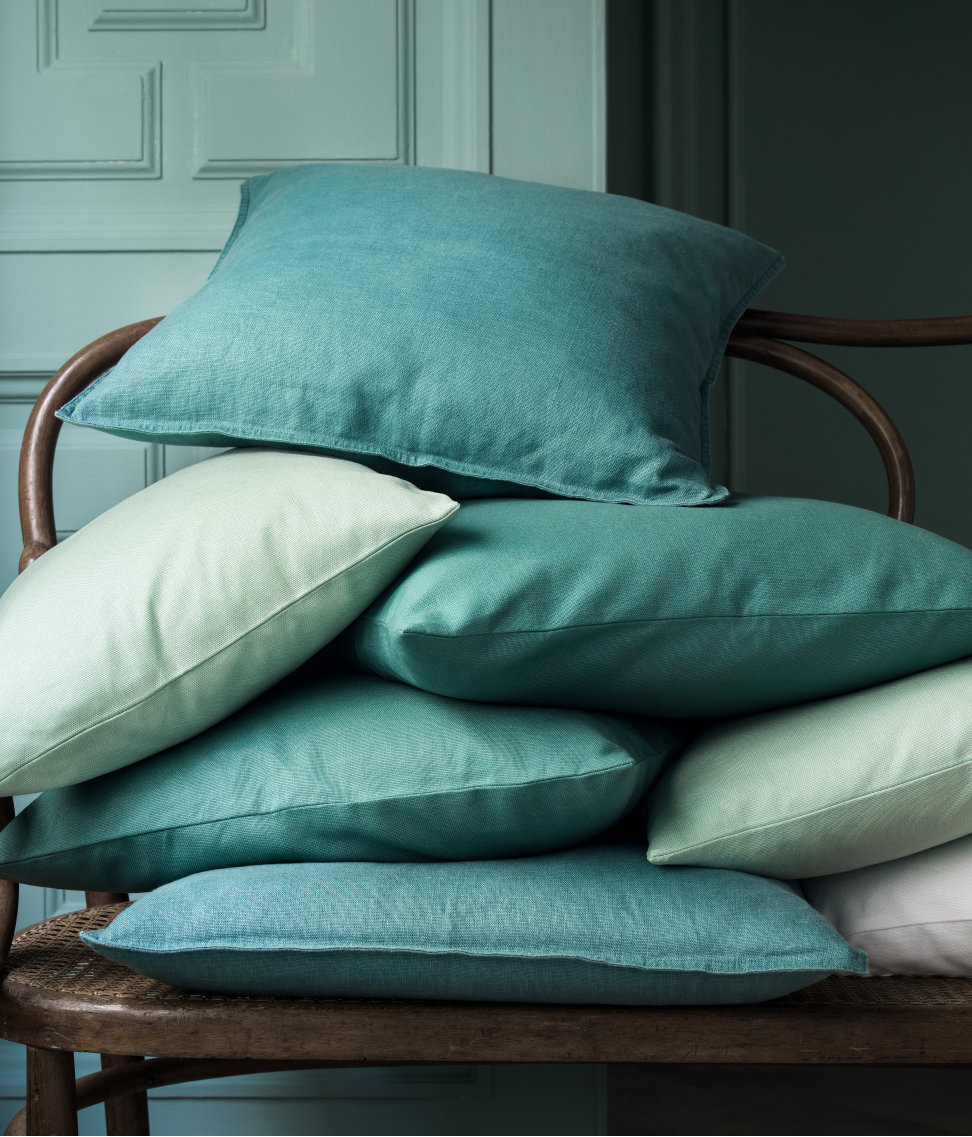Canvas cushion covers from H&M Home