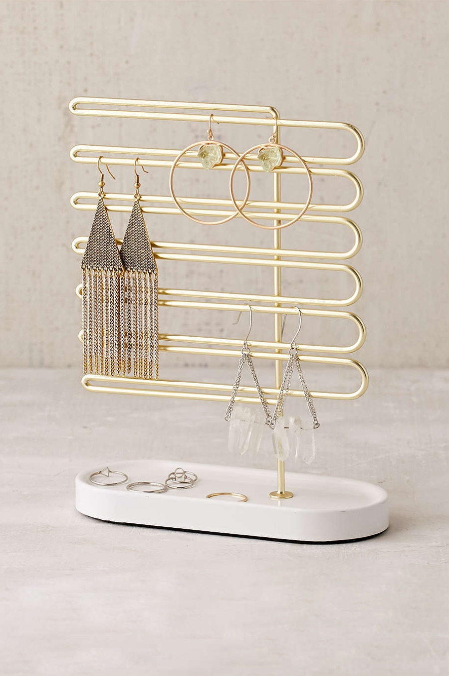 Ceramic and metal jewelry stand from Urban Outfitters