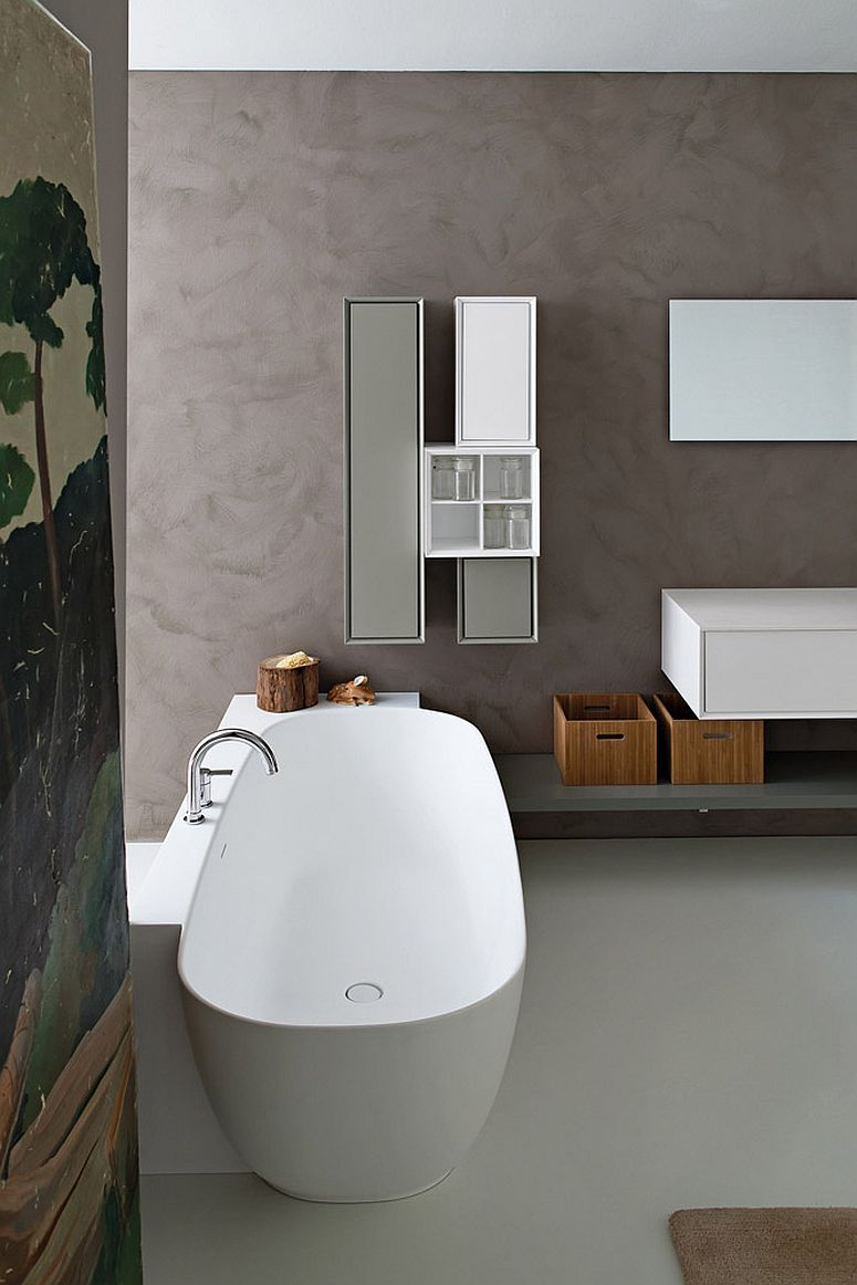 Classy Libera collection also features stunning standalone bathtubs