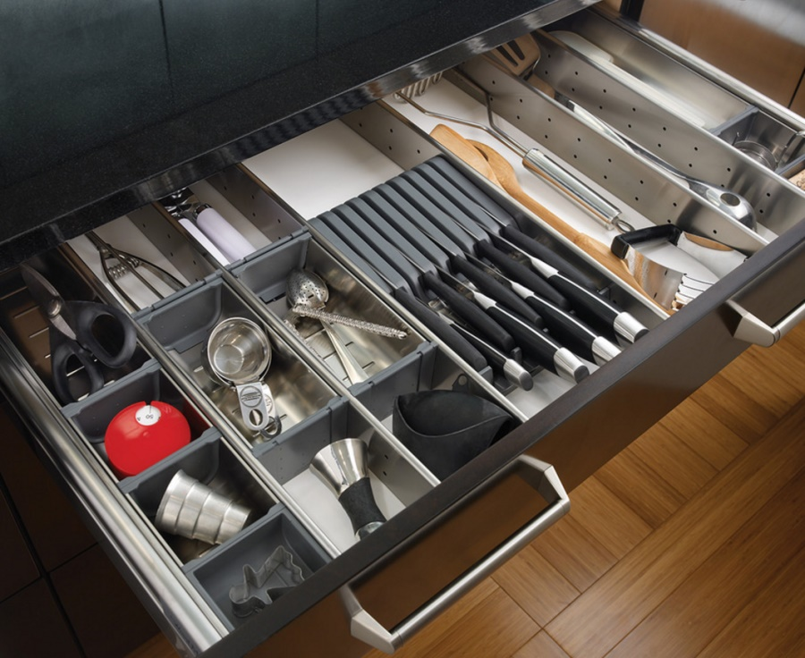 Cleaning and organizing your drawers can make a big impact
