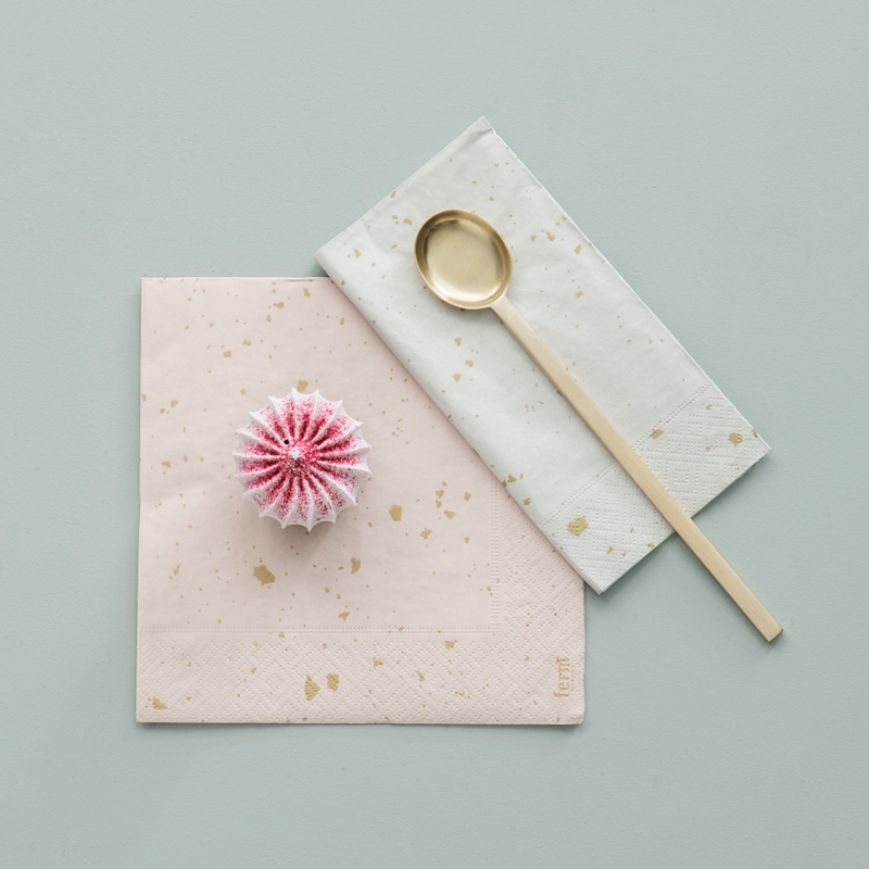 Confetti paper napkins from ferm LIVING