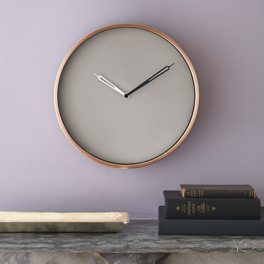 Copper clock from CB2