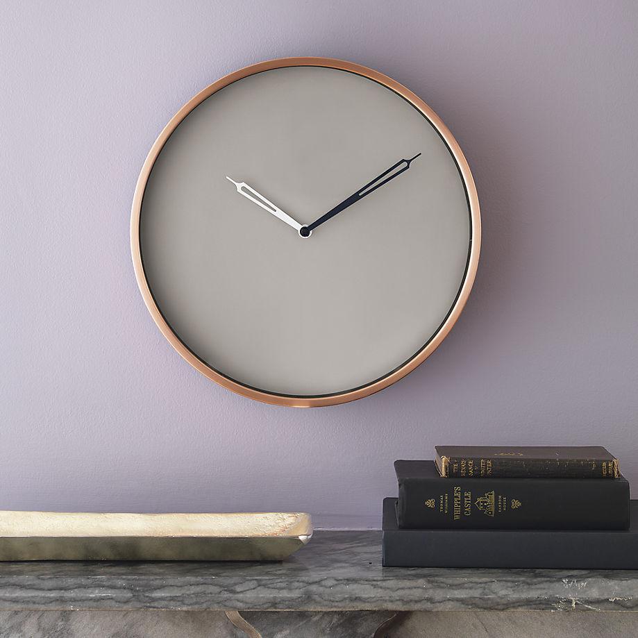 Copper clock from CB2