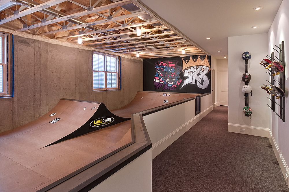 Create the next X-Games star in your basement! [Design: w.b. builders]