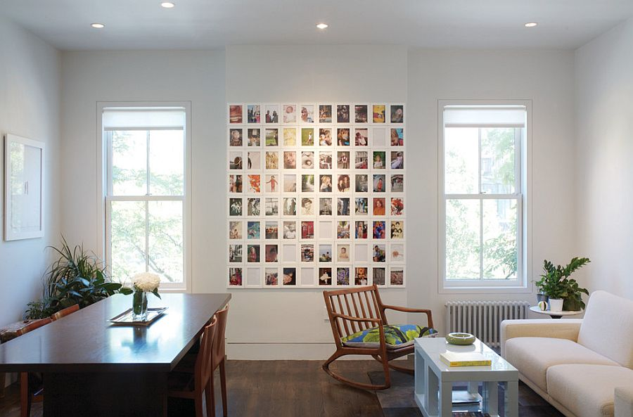 Create your own custom photo wall [Design: Stern McCafferty Architecture]