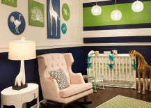 Creative-nursery-in-green-navy-blue-and-white-217x155