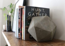 ... gives you some new accessory ideas to incorporate into your decor. Here  are just a few very unique and unusual bookend styles that might inspire  you.