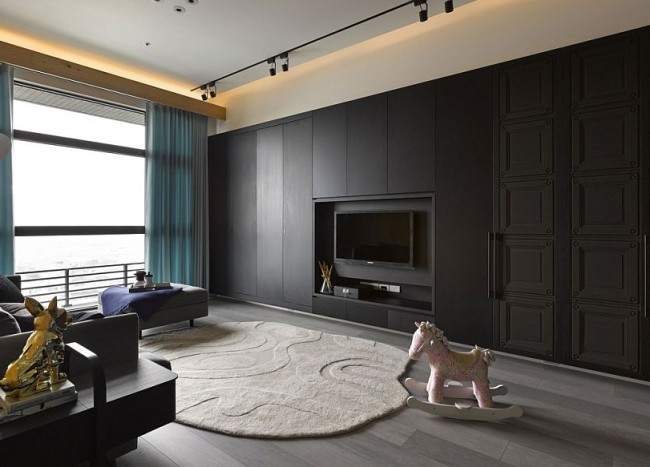 Small Apartment in Taipei City Embraces Understated Modernity