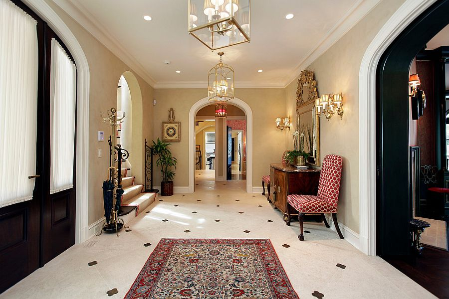 Mediterranean entry ideas an air of timeless majesty for Modern mediterranean interior design