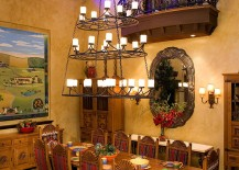 Dining room design that takes you back in time