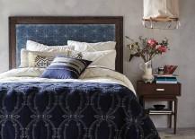 Elegant bedroom from Anthropologie