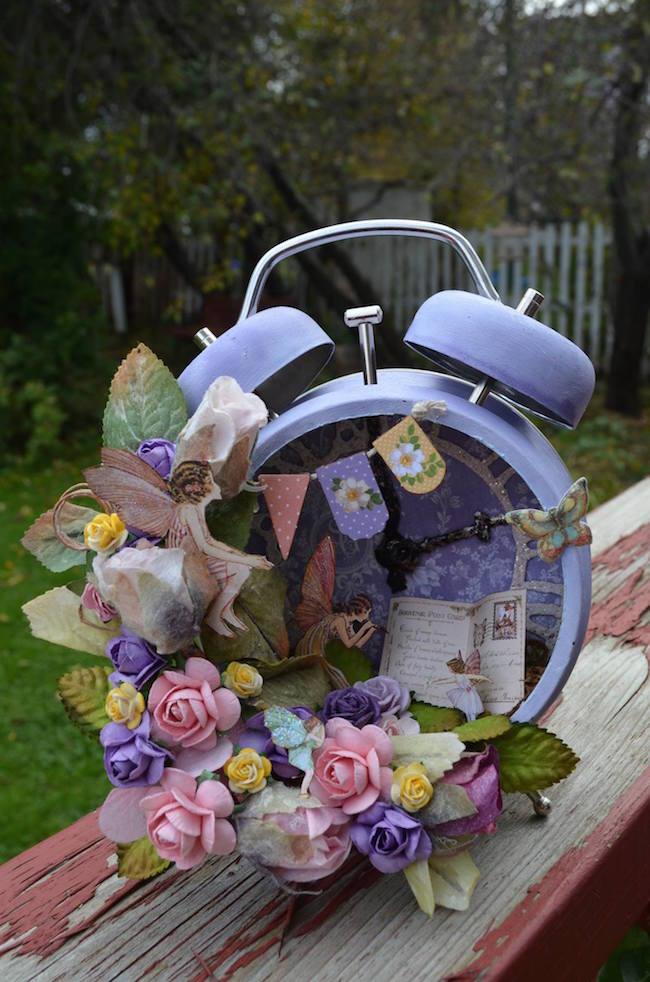 Fairy-inspired altered alarm clock
