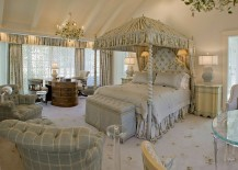 Feel like a princess in your bedroom