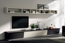 Fluida wall system becomes a part of Flux Swing compositions 270x180 Flux Swing: Dynamic Living Room Compositions with Modular Ease