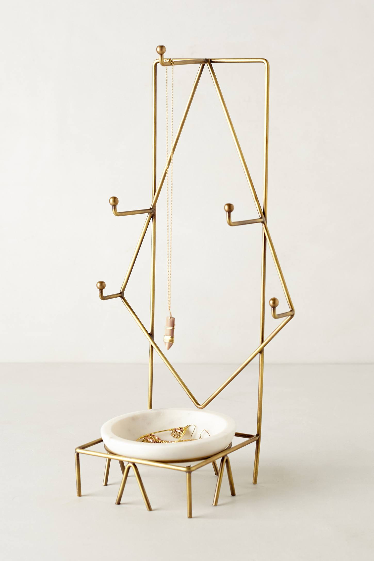 Geo jewelry stand from Anthropologie