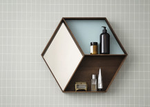 Geo wall shelving from District 17