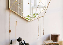 Geometric mirror from Urban Outfitters