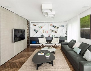 Glass and Aluminum Partitions Fashion Dynamic Home in Ramat HaSharon
