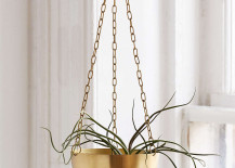 Hanging metal planter from Urban Outfitters