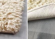 High-pile wool rug from IKEA