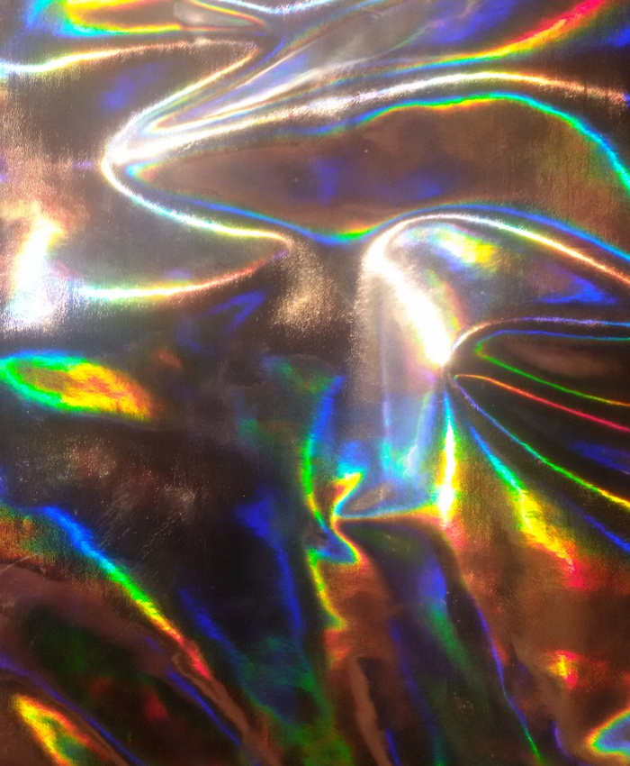 Holographic print by Vivien via Society6