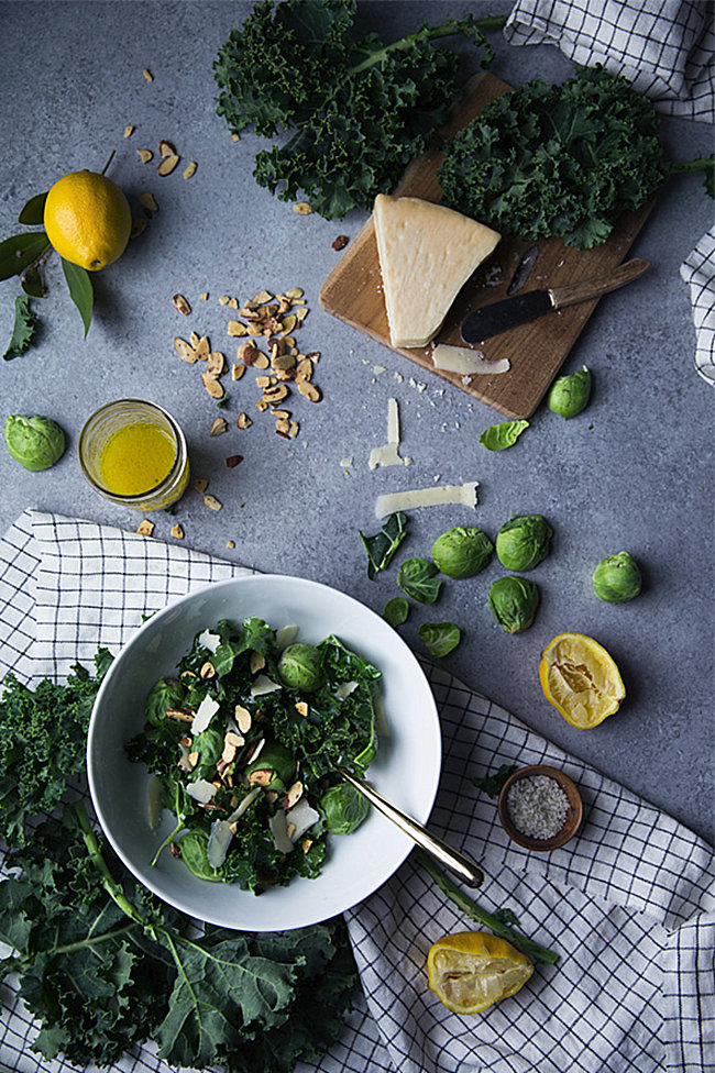 Kale salad from Say Yes