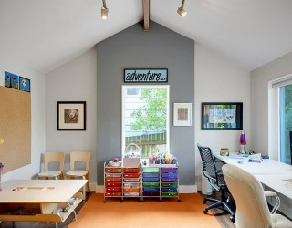 Multipurpose Magic: Creating a Smart Home Office and Playroom Combo
