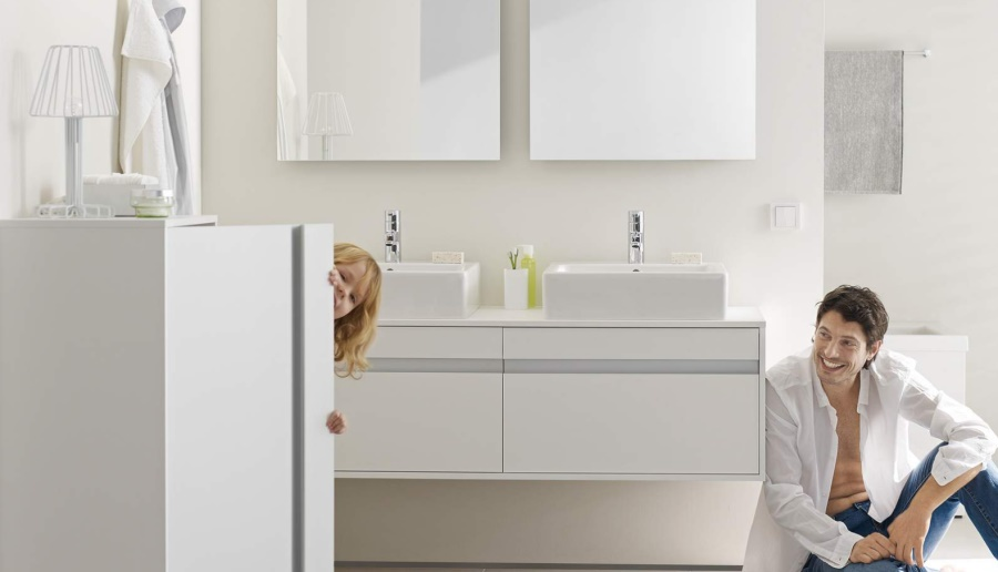 Ketho bathroom furniture by Duravit