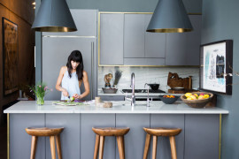Chic To Design for a Grey Kitchen
