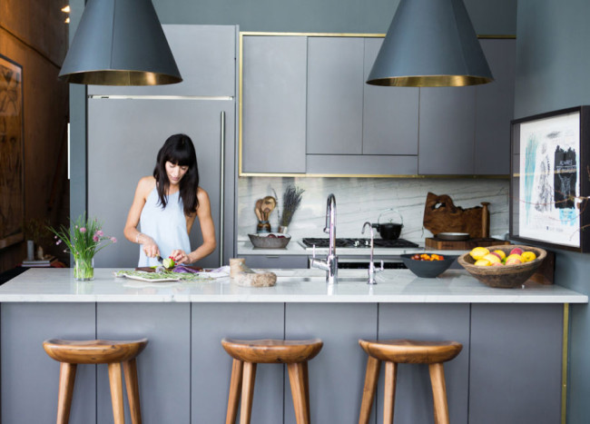 Chic Design Ideas for a Grey Kitchen