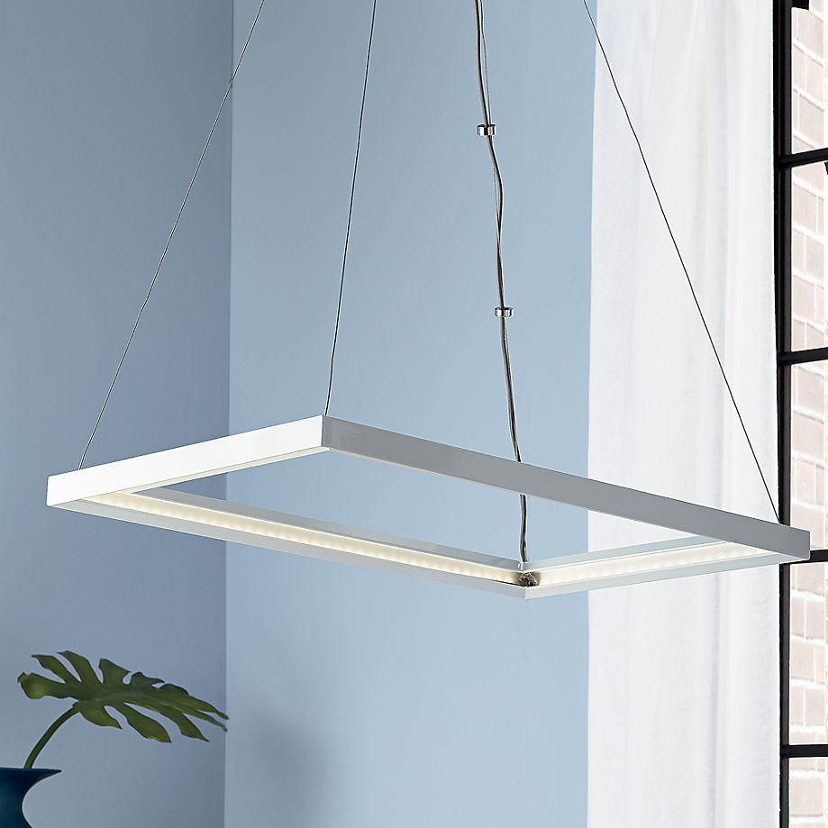 Lateral pendant lamp from CB2