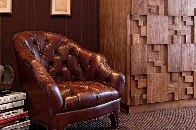 Leather brings class and timeless style to the interior