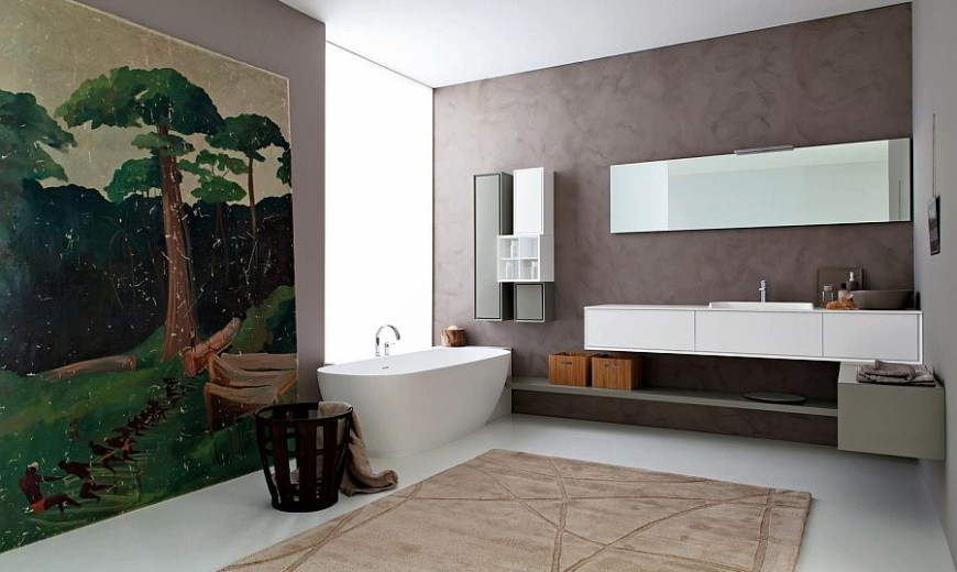 Libera: Bringing Snaidero's Craftsmanship to Posh Modern Bathrooms