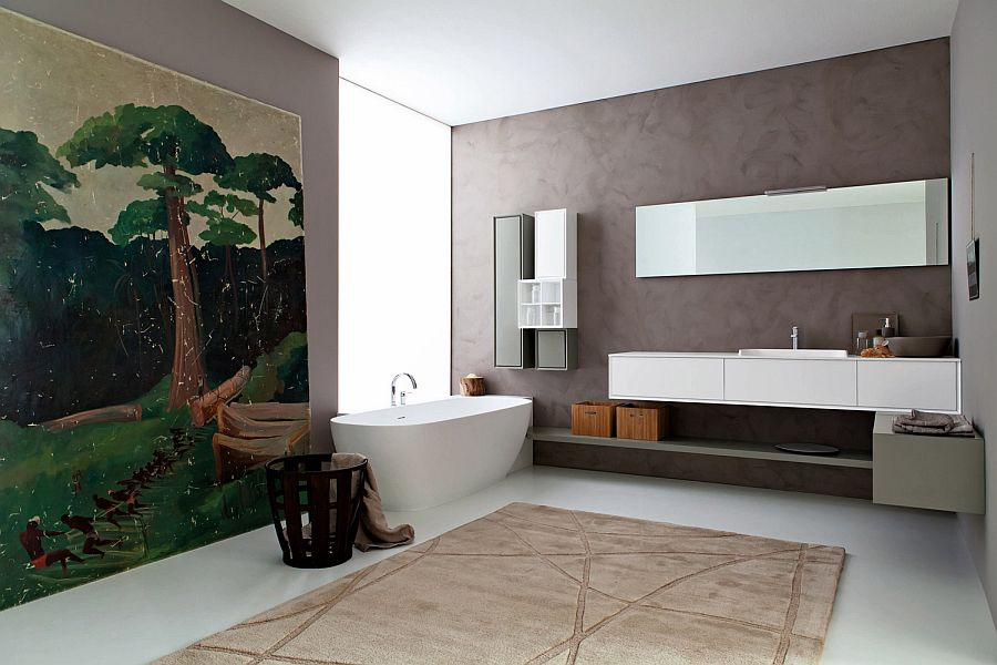 Libera bringing snaidero s craftsmanship to posh modern for Modern bathroom designs 2016
