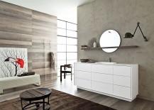 Libera collection unleashes a world of posh bathroom vanties, shelves and bathtubs