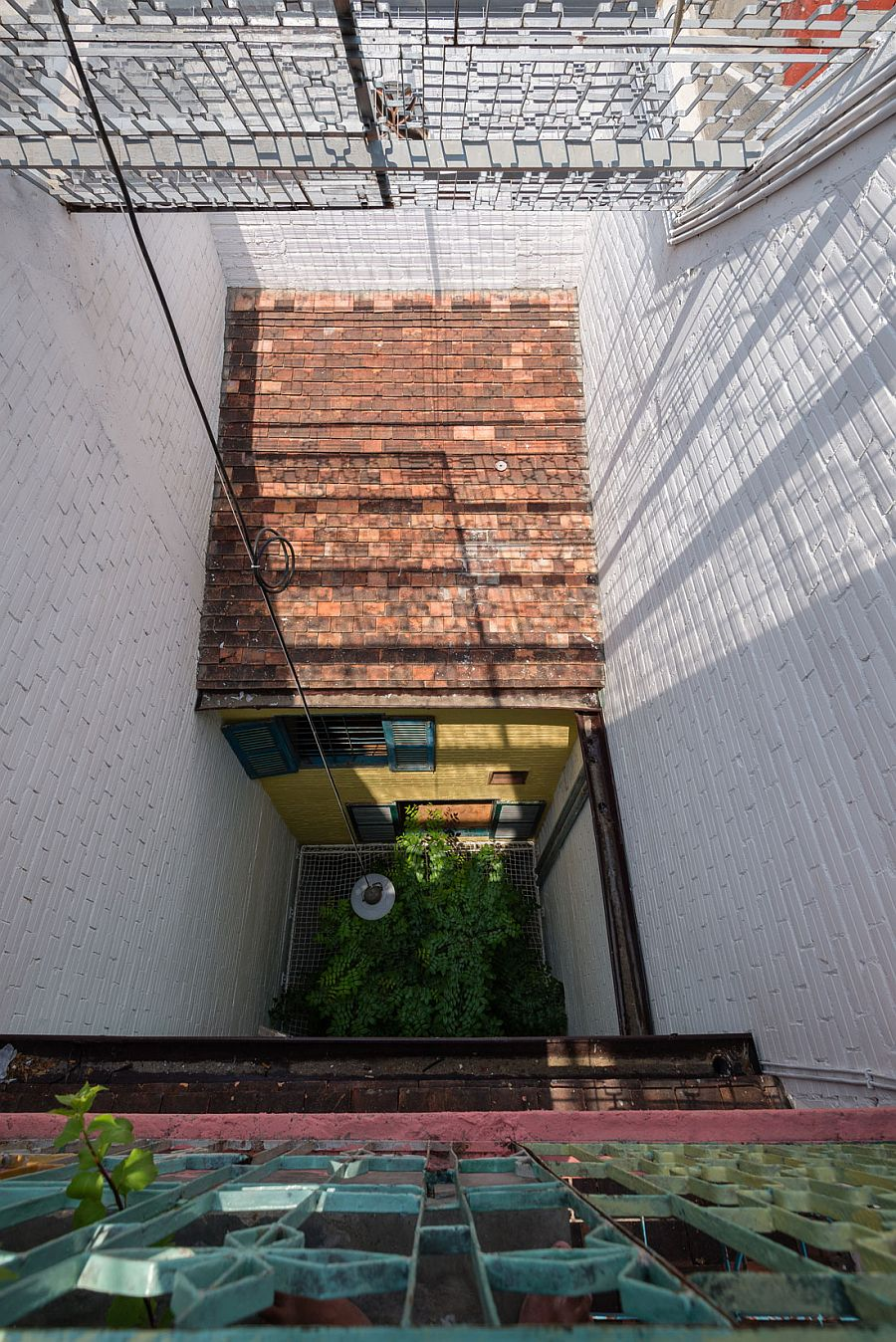 Light well provides the perfect indoor courtyard for this exquisite home in Ho Chi Minh City,