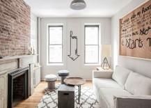 Monochromatic Magic: Refined Rental Apartment in New York City