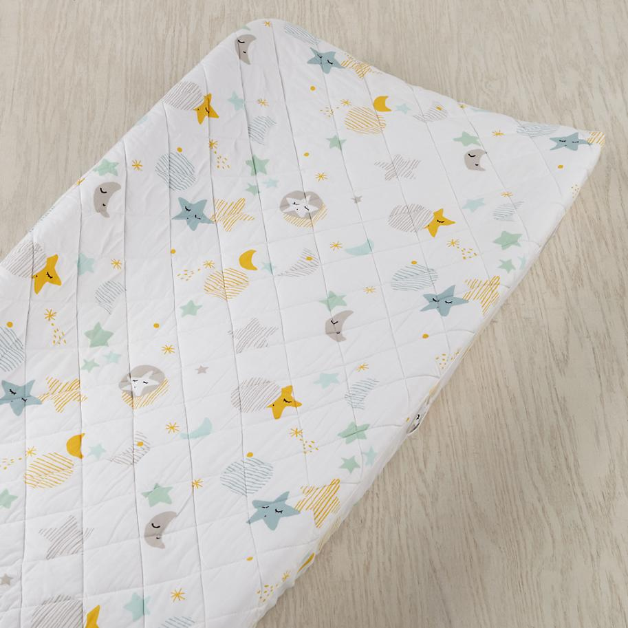 Lullaby changing pad cover from The Land of Nod