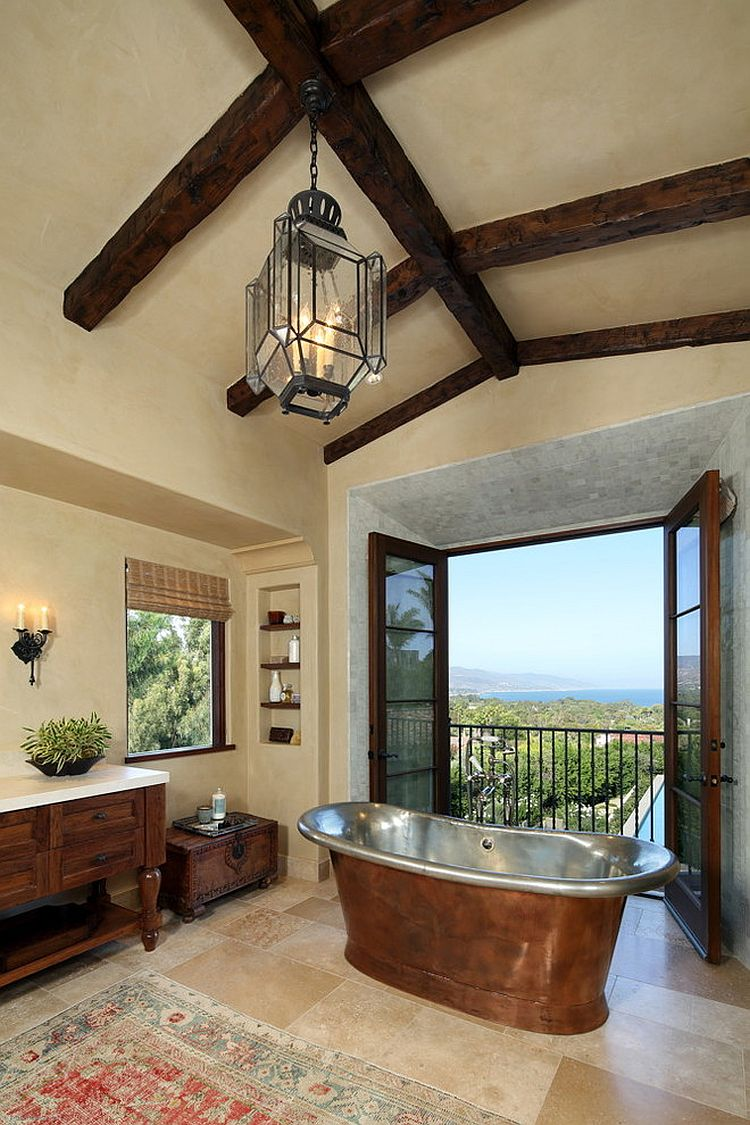 A timeless love affair 25 juliet balconies that deliver for Bathroom decor styles