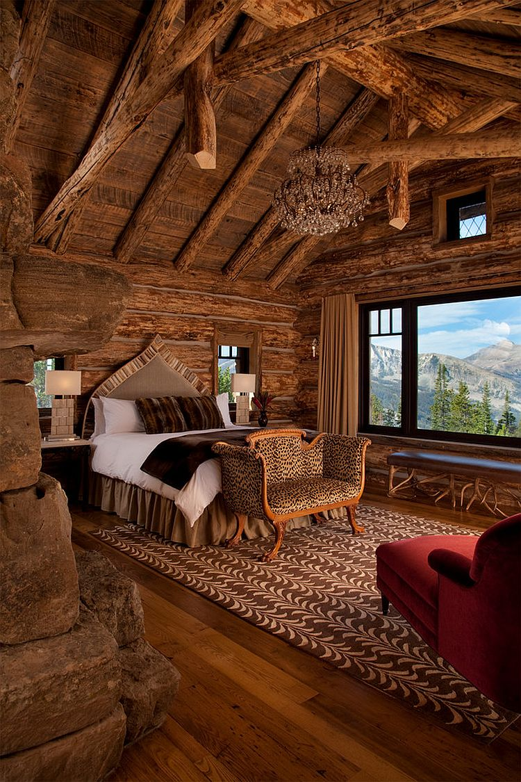 Amazing views meet timeless charm at rustic mountain cabin for Rustic cabin homes