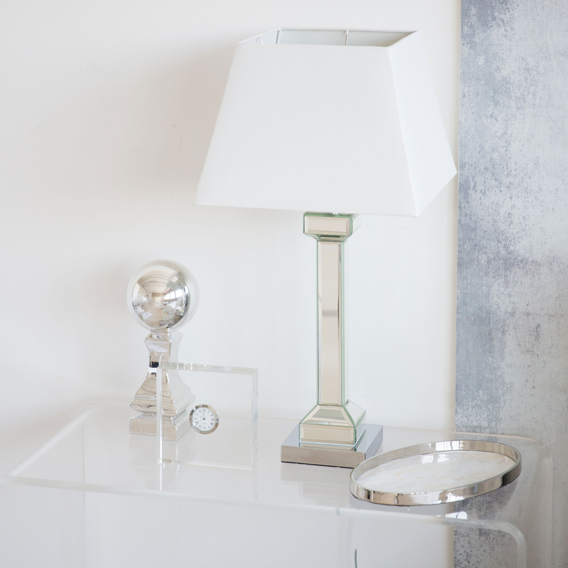 View In Gallery Mirrored Lamp From Zara Home