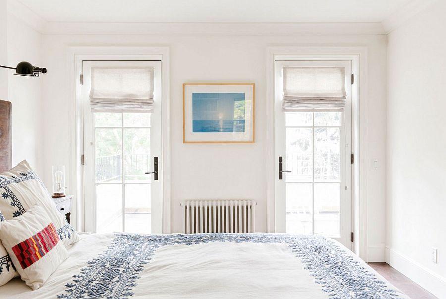 Modern Bedroom in white
