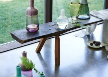 Modern glass vases from West Elm