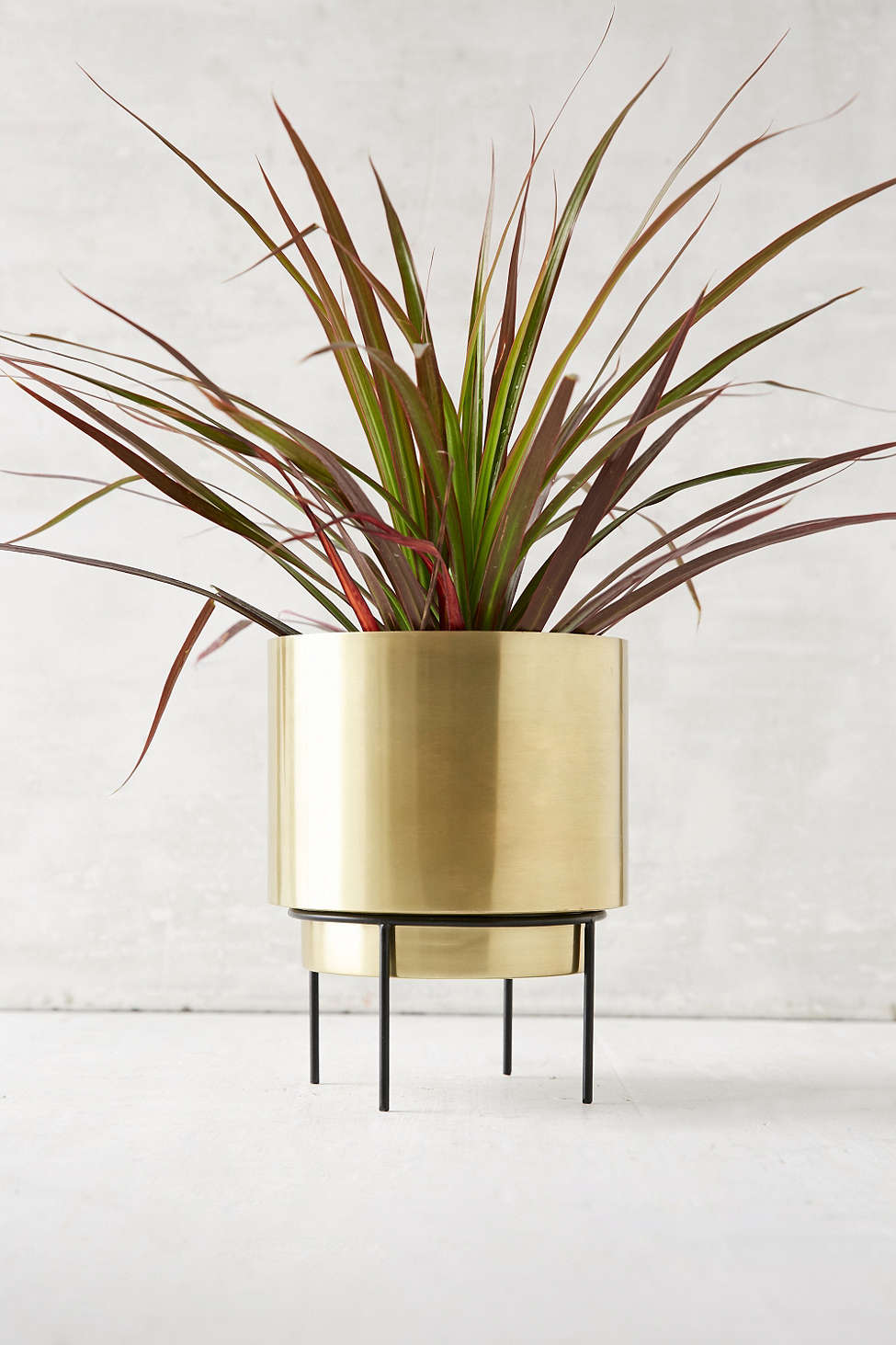 Modern metal planter from Urban Outfitters