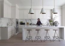 Modern mixed materials kitchen