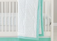 Moon crib bedding from The Land of Nod