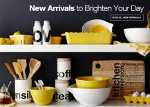 New kitchen arrivals from Crate & Barrel